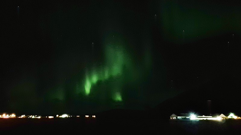 Best time to see northern lights in Iceland