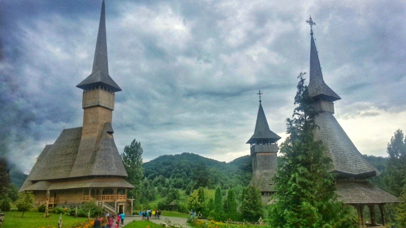 wooden churches of Maramures one of the best places to visit in Romania