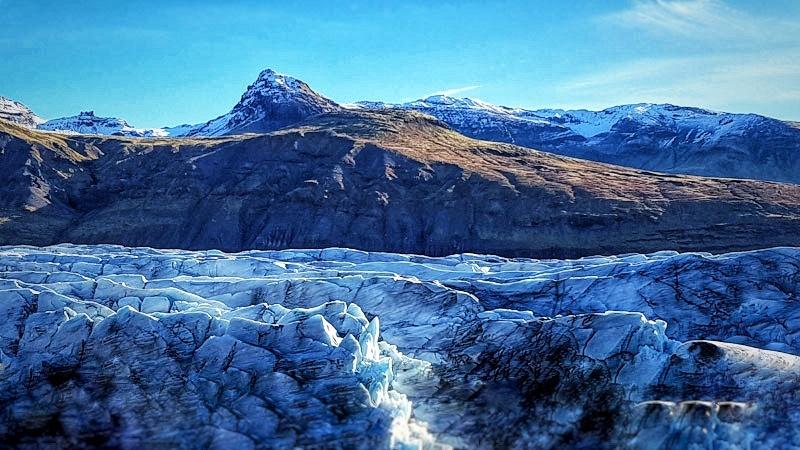 Vatnajokull Iceland the largest glacier in Europe