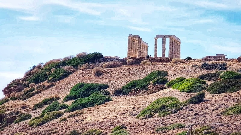 Visiting Athens Temple of Poseidon