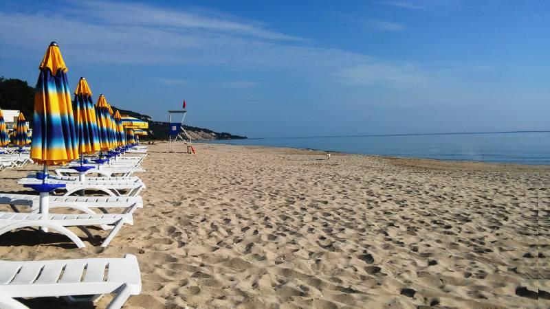 Albena Beach Bulgaria beaches at black sea coast