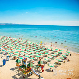 Golden Sands Bulgaria beach