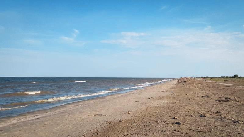 Sfantu Gheorghe Beach Danube Delta wild beach on black sea coast