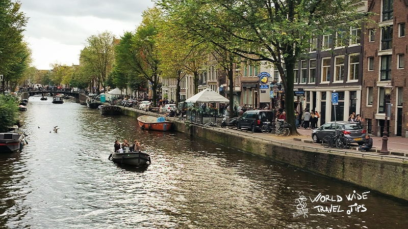 things to do in Netherlands Boat tour along Amsterdam Canals