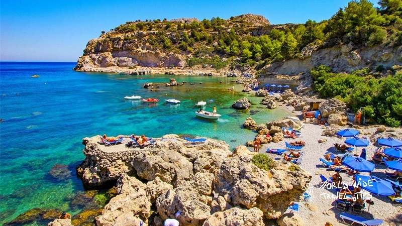 Best 5 Rhodes beaches for your summer holiday