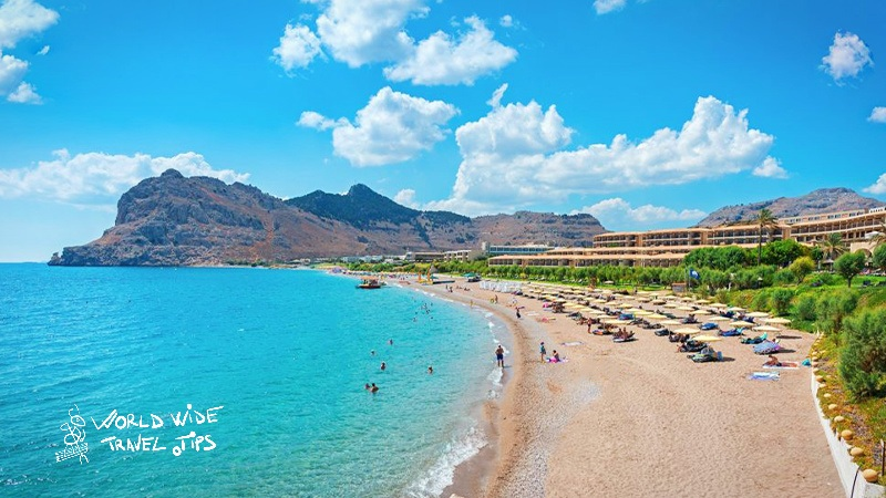 Useful information for visiting Rhodes Kolymbia beach