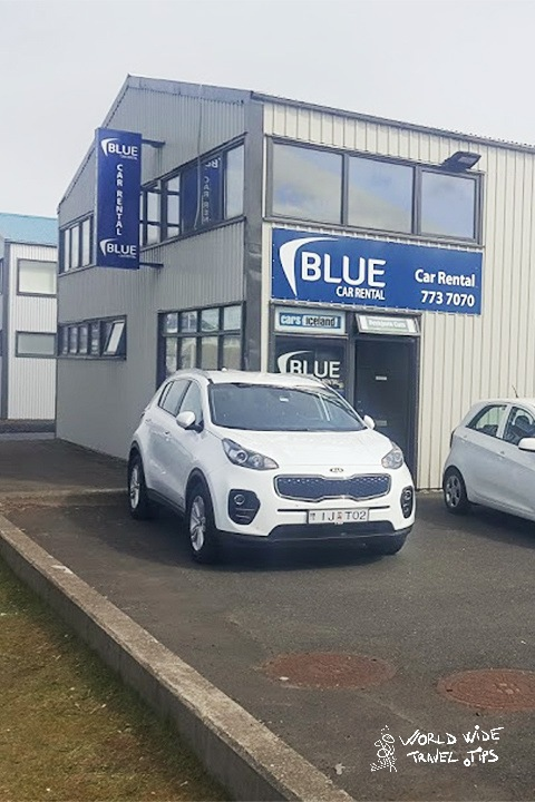 Blue Car Rental Iceland Keflavik Airport