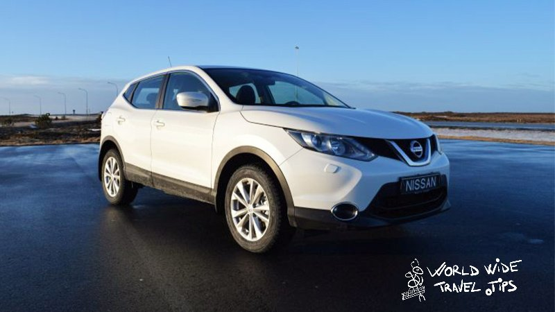 Blue Car Rental Keflavik Airport Nissan Qashqai