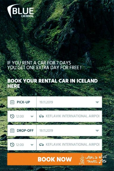 Blue Car Rental Keflavik Airport office price