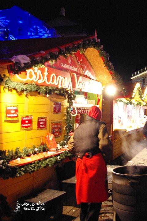 Christmas Market in Sibiu Transylvania Romania