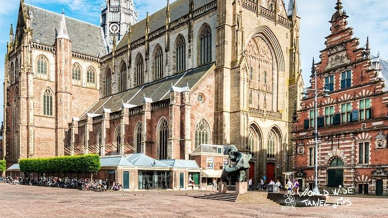 Amsterdam to Haarlem Grote Kerk Haarlem Church Netherlands hz