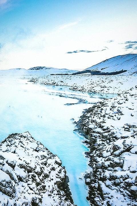 Iceland Blue Lagoon Spring Geothermal Spa