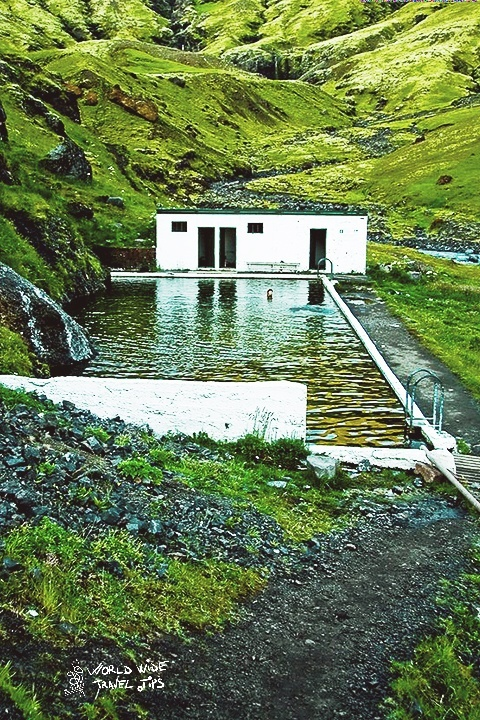 Iceland Seljavallalaug Oldest Pool