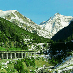 Transfagarasan Romania summer alpine road