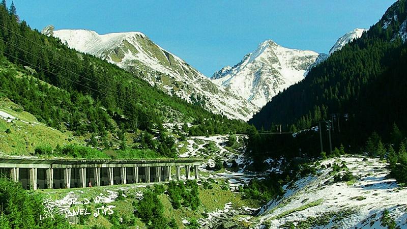 Transfagarasan Romania summer alpine road