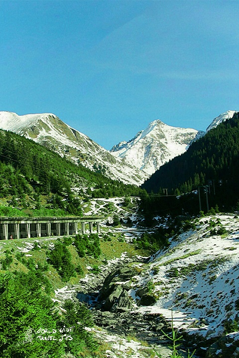 Transfagarasan Romania summer snow best time of year to visit Romania