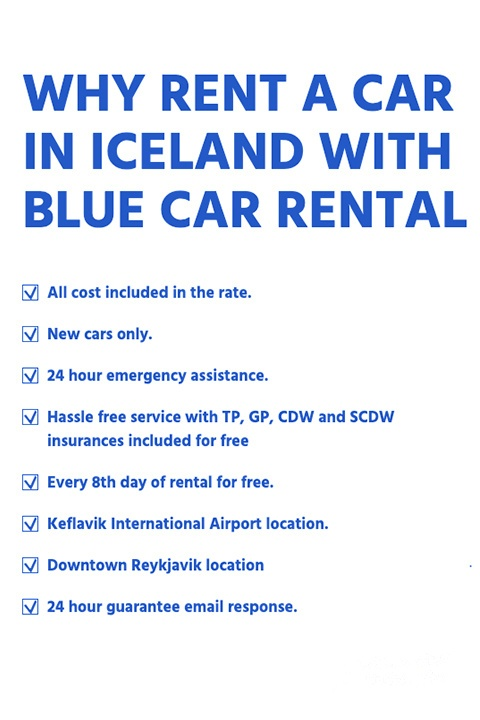 why rent a car in Iceland Keflavik Airport