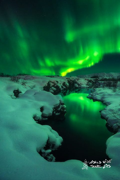 Best time for northern lights inIceland