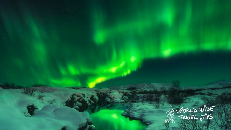 Best time of year for northern lights in Iceland