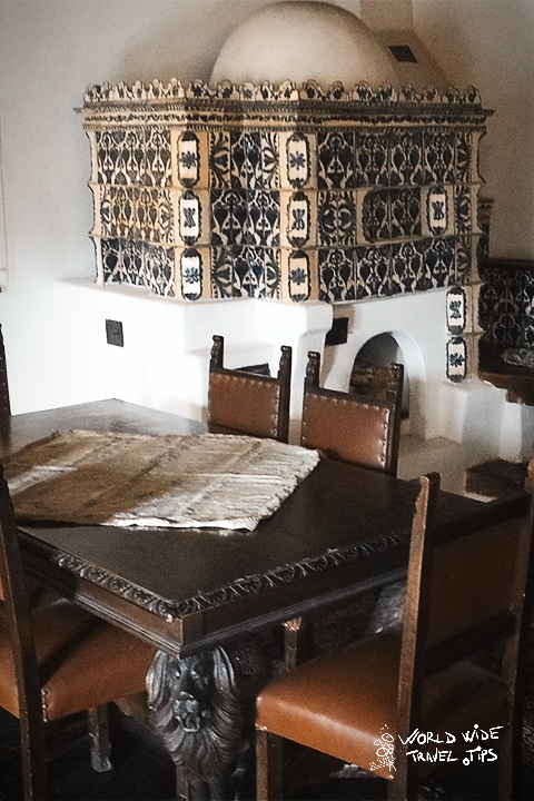 Bran Castle interior room