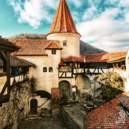 Bran Castle near Brasov Romania