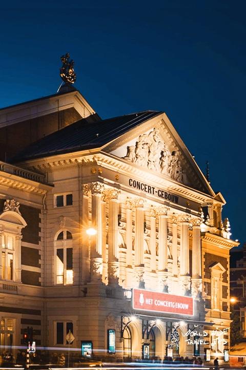 Concertgebouw in Amsterdam Carol Concert