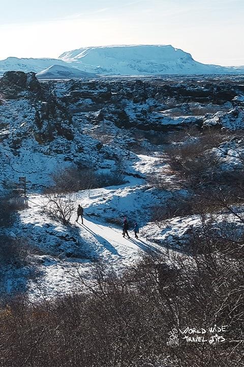 Dimmuborgir Lava Field Iceland Myvatn Area