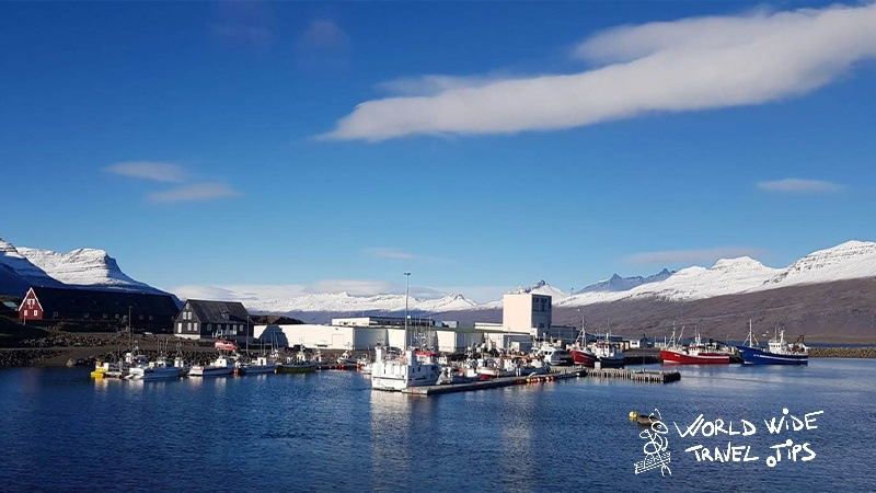 East Fjords Ships Port Iceland