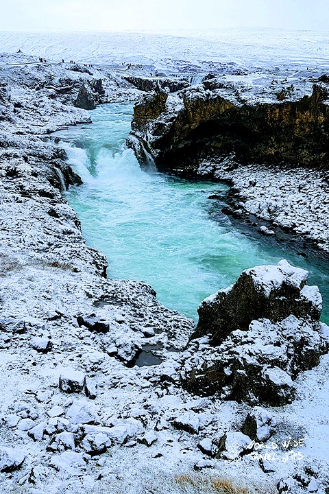 Godafoss Waterfall Iceland Ring Road