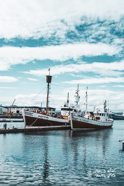 Husavik Port Iceland