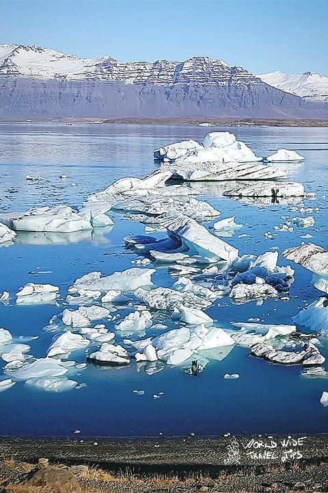 Iceland Jokulsarlon Iceland floating iceberg