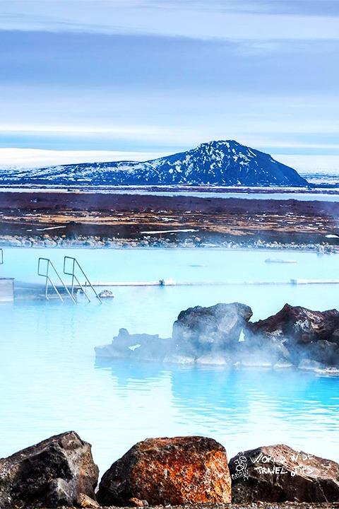 Iceland Myvath Geothermal Bath