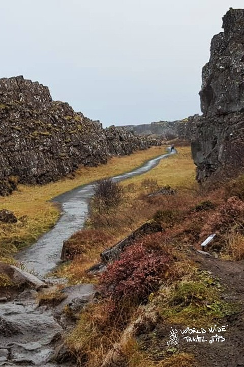 Iceland Thingvellir Rift valley