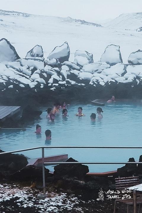 Myvath Nature Bath in Iceland Myvatn area