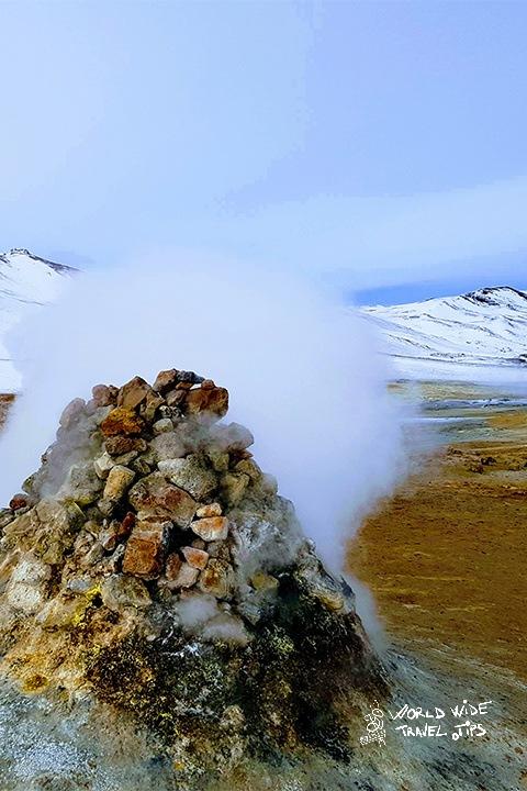 Námaskarð Steam Iceland