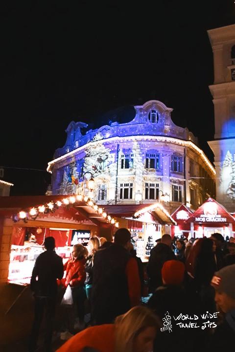 Romania Christmas Market Sibiu