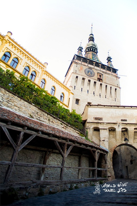 Sighisoara Medieval Clock Tower