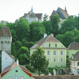 Sighisoara Romania Medieval Fortress