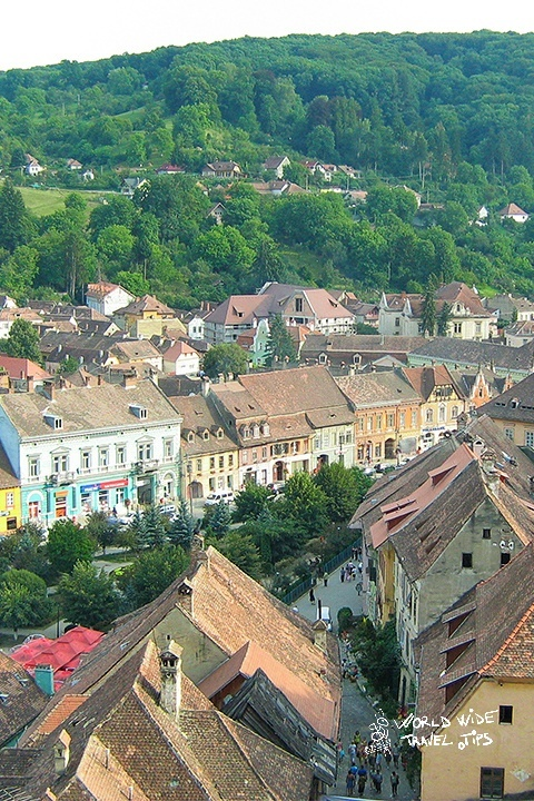 Sighisoara Romania beautiful Medieval Fortress