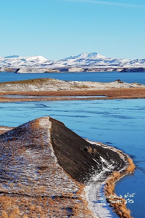 Skútustaðir Craters Park in Iceland