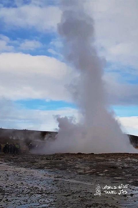 Strokkur Iceland Geysir Golden Circle
