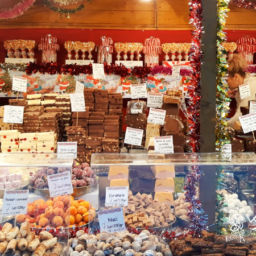 Sweet Candy Christmas market in Romania