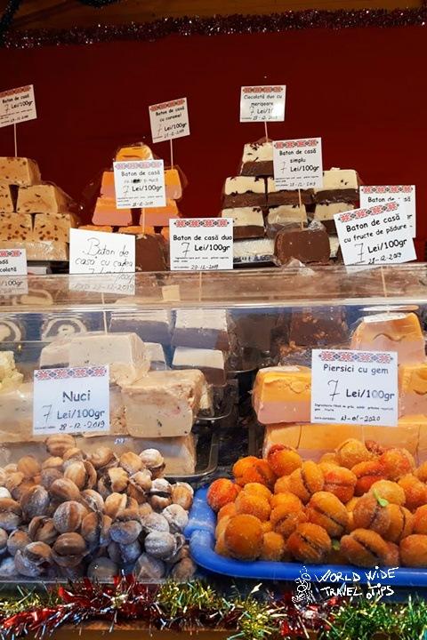 Sweets at Christmas Market