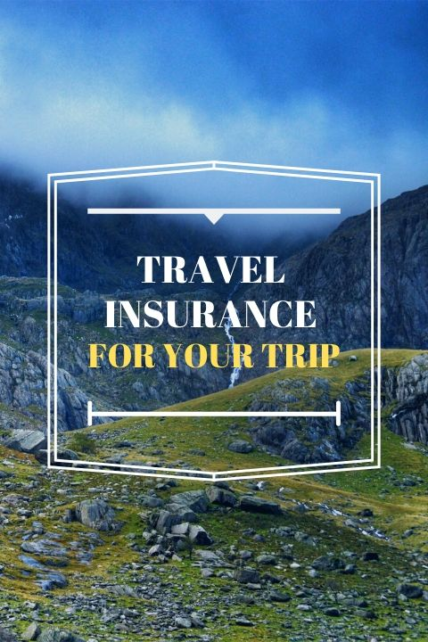 Travel Insurance for your holiday
