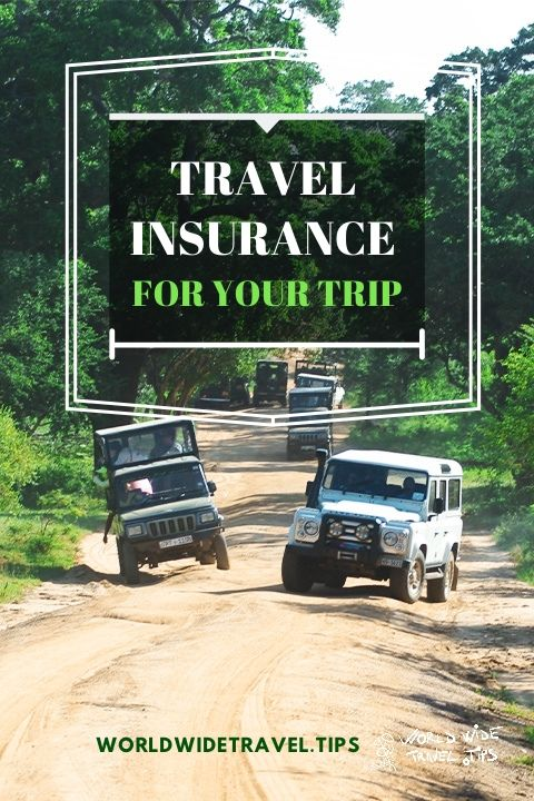 Travel Insurance for your trip holiday