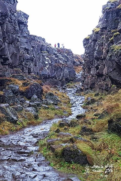 Visit Thingvellir National Park for northern lights