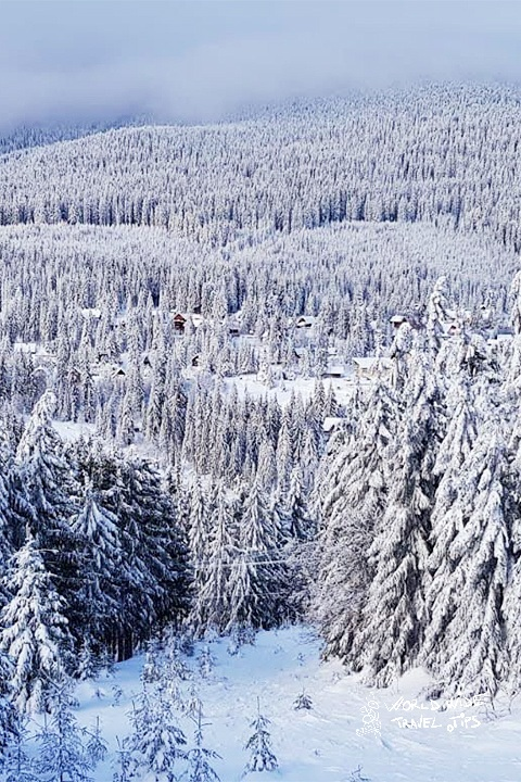 Winter in Transylvania Romania