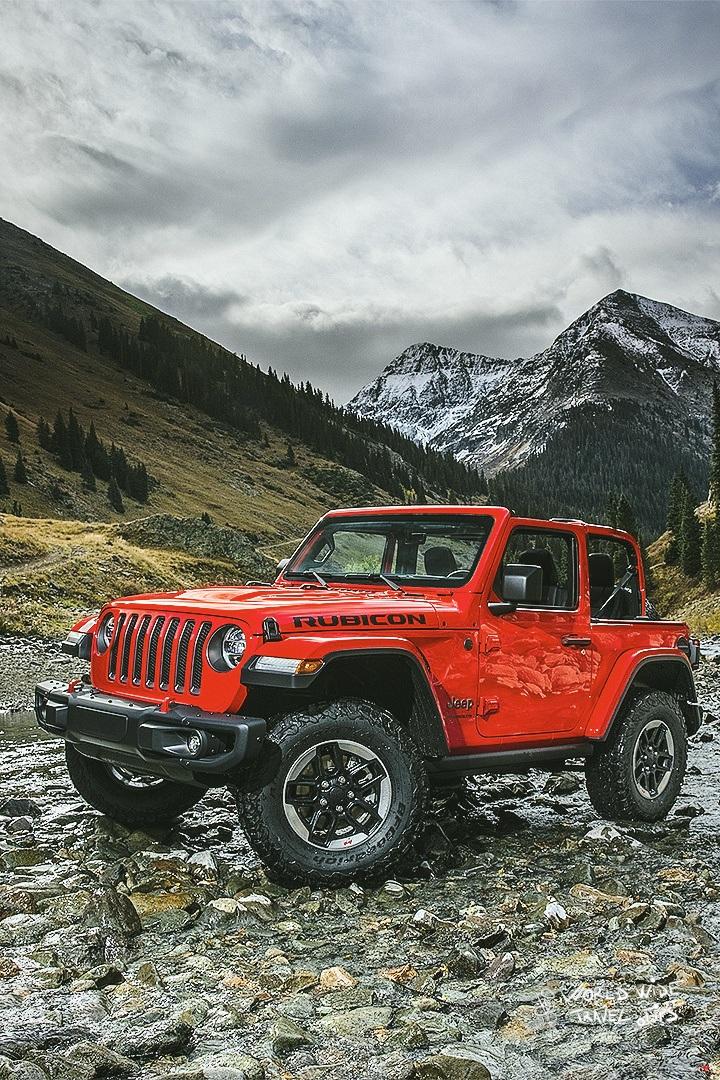 4x4 car for mountain terrain