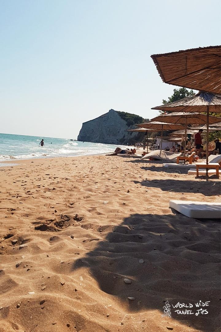 Argata Beach sun umbrella