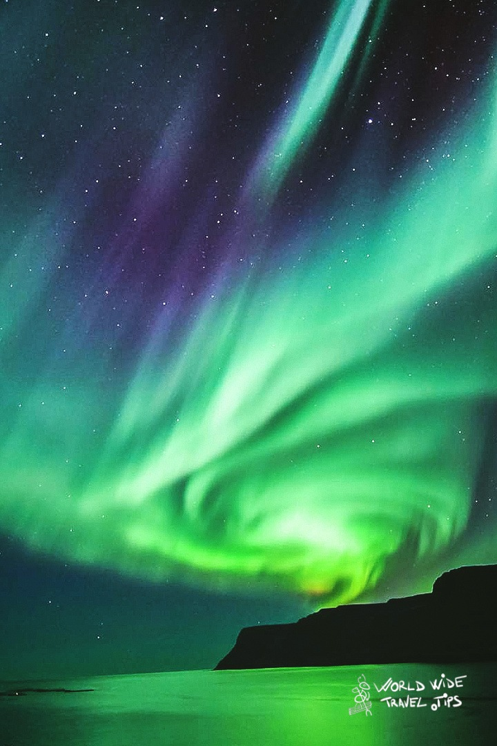 The Aurora Borealis Northern Lights in Iceland